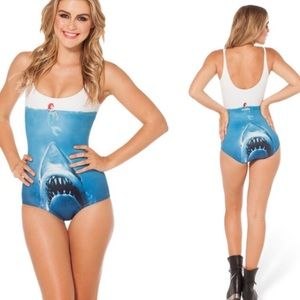Other - Jaws and Ariel bathing suit size L new w tags